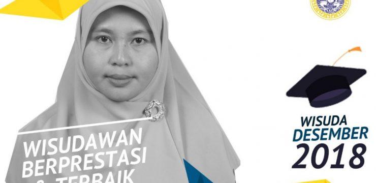 Melalui Perjuangan Menulis di Jurnal Scopus, Yeni Jadi Wisudawan Terbaik S3 FST